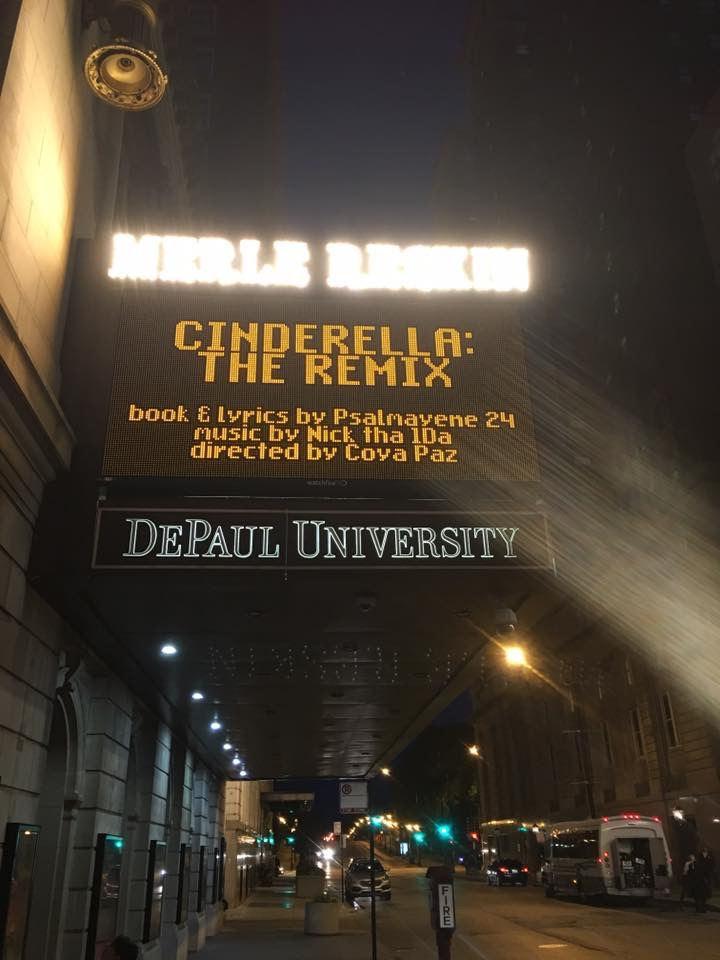 cinderella the remix depaul